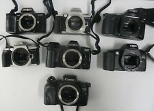 Lot Of 7 Camera Bodies. Canon And Minolta - Lot #4