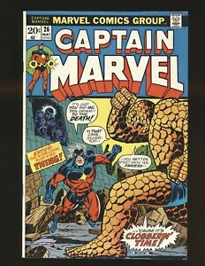 Captain Marvel # 26 F/VF Cond.
