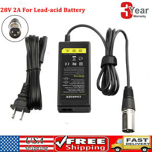 24V Battery Charger for Jazzy Power Chair,Pride Hoveround Mobility,Schwinn,Ezip