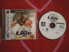 NBA LIVE 2002 COLLECTORS EDITION Sony PlayStation PS1 EA Sports Basketball