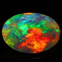 6x4 MM OVAL CUT SUPER RAINBOW ELECTRIC ETHIOPIAN FIRE WELO OPAL WHOLESALE PRICE