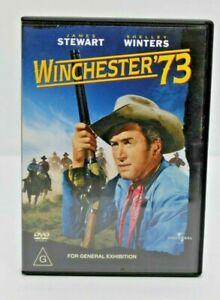 Winchester 73 DVD  James Stewart, Shelley Winters, Dan Duryea Free Post