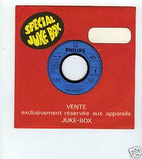 45 RPM SP PROMO FRIDA BOCCARA L'ANNEE OU PICCOLI /UN SOURIRE AU DELA DU CIEL
