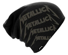 Metallica 'Repeat Logo' (Black) Beanie Hat - NEW & OFFICIAL!