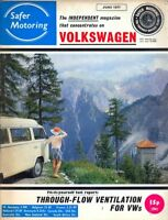 Safer Volkswagen VW Motoring magazine June 1971