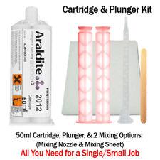 Araldite 2012 Fast Set All-Purpose Epoxy Kit-50ml Hand Plunger