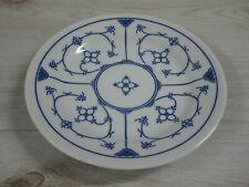 Jäger Eisenberg Orig. Blau Saks Indisch blau Strohblume Teller Brotteller 17,0cm