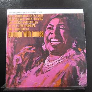 Helen Humes - Swingin' With Humes LP VG+ S7598 Reissue Stereo Vinyl Record