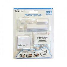 Nitho Kit protezione 7in1 per Nintendo DS DSi Nero Ndxk