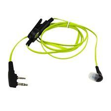 2 Pin Auricular Auriculares Con Micrófono Para Baofeng Uv5r 888s Kenwood Wouxun