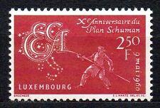 Luxembourg - 1960 10 years Schuman plan Mi. 620 MNH
