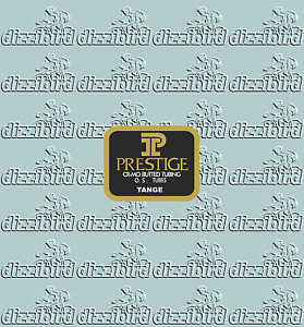 Tange Prestige tubing decal- perfect for restorations