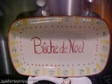 "PFALTZGRAFF "" PISTOULET HOLIDAY "" BUCHE DE NOEL PLATTER"