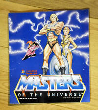 LOOK Rare Excellent Condition Master of the Universe He-Man Sticker Book Panini