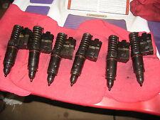 6 Detroit Diesel Series 60 12.7  Injectors Peterbilt Kenworth IH