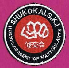SHUKOKAI S.K.I HUSNI'S  ACADEMY OF MARTIAL ARTS PATCH