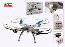 DRONE RADIOCOMANDATO 40CM CON HD VIDEO CAMERA 5 CANALI + GIROSCOPIO COLORE NERO