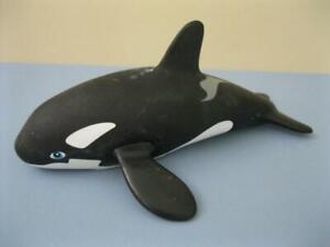 "1995 OCEAN FRIEND KEN Barbie Doll SHAMU PET BABY KEIKO Orca WHALE SEA ANIMAL 7"""