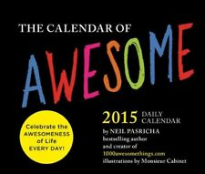 New, 2015 Daily Calendar: Calendar of Awesome (Page a Day Calendar 2015), Neil P