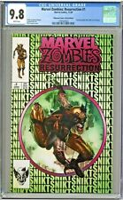 Marvel Zombies Resurrection #1 CGC 9.8 Unknown Comics Green Edition Suayan Cover