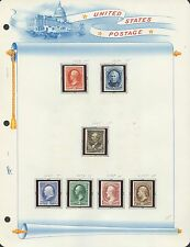 #183P4 // #209P4 BANKNOTES PLATE PROOFS ON CARD (7) DIFFERENT BS4306