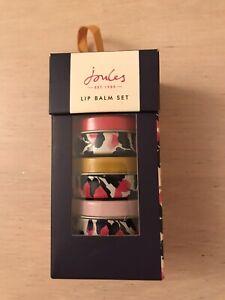 Joules Lip Balm Set, Honey, Blackberry & Elderflower