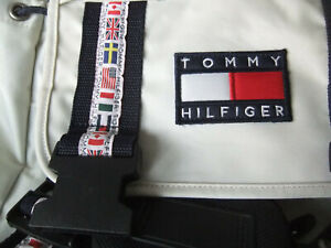 Tommy Hilfiger International Games Rucksack / Daypack Nylon Backpack Vintage Rar