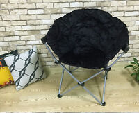 Large Saucer Moon Chair Gaming Chair Dorm Thanksgiving Gift Folding Padded