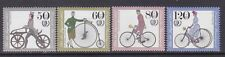 Germany B630-33 MNH 1985 Antique Bicycles Complete Set Very Fine