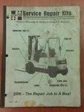 Hyster Service Repair Kits Catalog