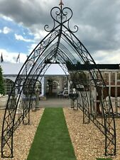 LONG GOTHIC TUNNEL - LARGE ROSE ARCH feature tunnel in steel Wedding Arch