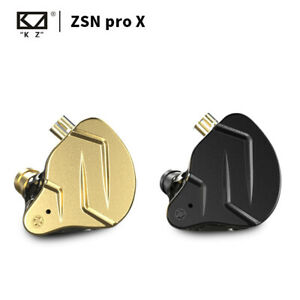 KZ ZSN Pro X Dual Driver 1BA+1DD Hybrid HIFI Bass In Ear Earphones Sport Headset