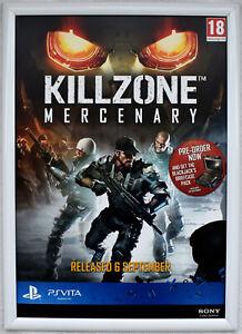 Killzone Mercenary RARE PS Vita 42cm x 59cm Promotional Poster