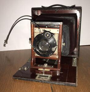 Vintage Bausch & Lomb ? Folding Camera Zeiss Protar Series VII 1607641
