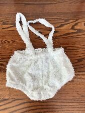 Coco Blanc White Fuzzy Bloomers 3y Nwt