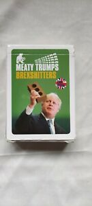 BREXSHITTERS (First Edition) top Meaty Trumps OOP ltd ed of 2000