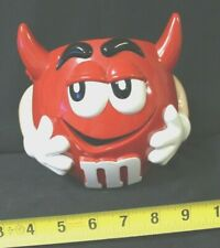 M&M Red Halloween Candy Bucket