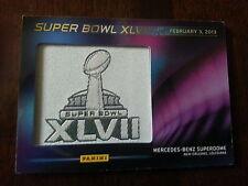 2013 Panini Super Bowl XLVII Patch Card Ravens VS 49 Ers