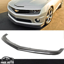 For 10-13 Chevy Chevrolet Camaro SS V8 ZL1 Style Front Bumper Lip Spoiler Kit PU