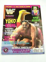 Magazine les superstars du catch N°19 Septembre 1994 POSTER ADAM BOMBE rare WWF
