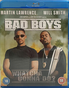 Bad Boys - Blu Ray - Will Smith, Martin Lawrence - 18+ - Free Postage