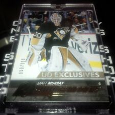 MATT MURRAY YOUNG GUNS EXCLUSIVES ROOKIE SP 053 /100 RC 2015/16 UD # 526