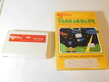Commodore Vic-20 computer cartridge - Terra Guard Terraguard - WORKS, w/box