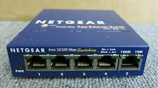 Netgear FS105 External Prosafe 5 Port Fast Ethernet 10/100 Desktop Switch