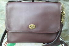 vintage Coach 9870 Court brown bag BROWN (500