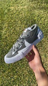 Sacai x Blazer Low Iron Grey - DD1877 002 - Size 11 M