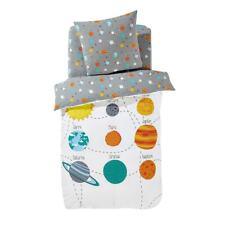 Boys & Girls Planets Children's Printed Cotton Duvet Cover 350017488