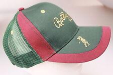 Bobby Jones Bottle Green / Dark Burgundy Baseball / Peak Cap Trendy Mesh Back