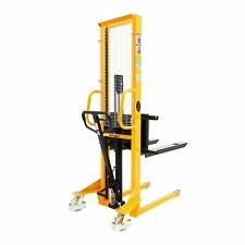 Apollolift Manual Walkie Stacker With Adj Forks 63 Lift Height 1100lbs2200lbs