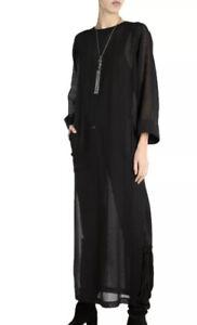Saint Laurent Black Long Day Beach Dresses Size 40 FR RRP £1200